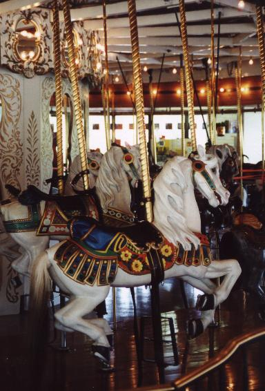 The Looff Carousel at Riverfront Park